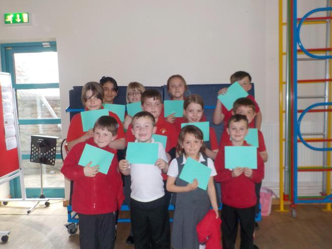 Our Class Dojo Winners