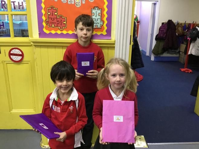 Our Bookshop Competition Winners.