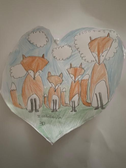 Foxes by Isabelle, 3D