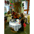 Role play in the bear's house