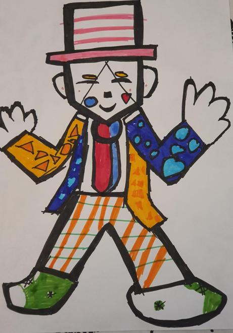 Romero Britto by Grace, 6B
