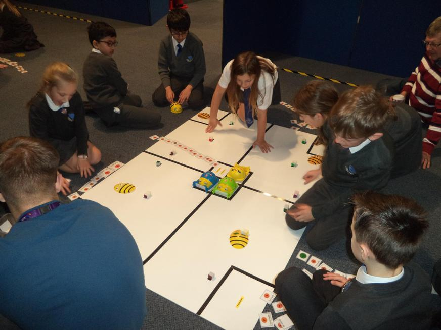 Exploring directional language with BeeBot