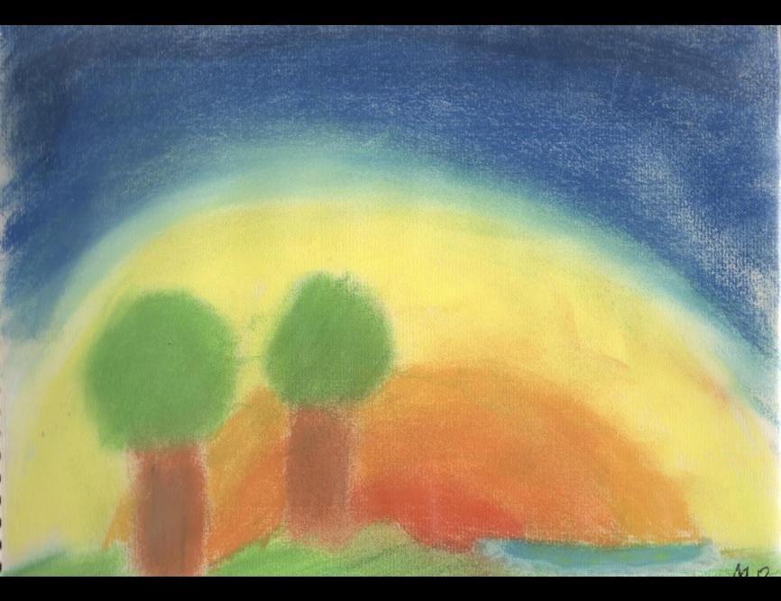 'Peaceful Sky' by Molly