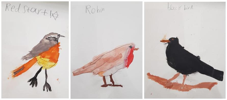'Birds' by Martha