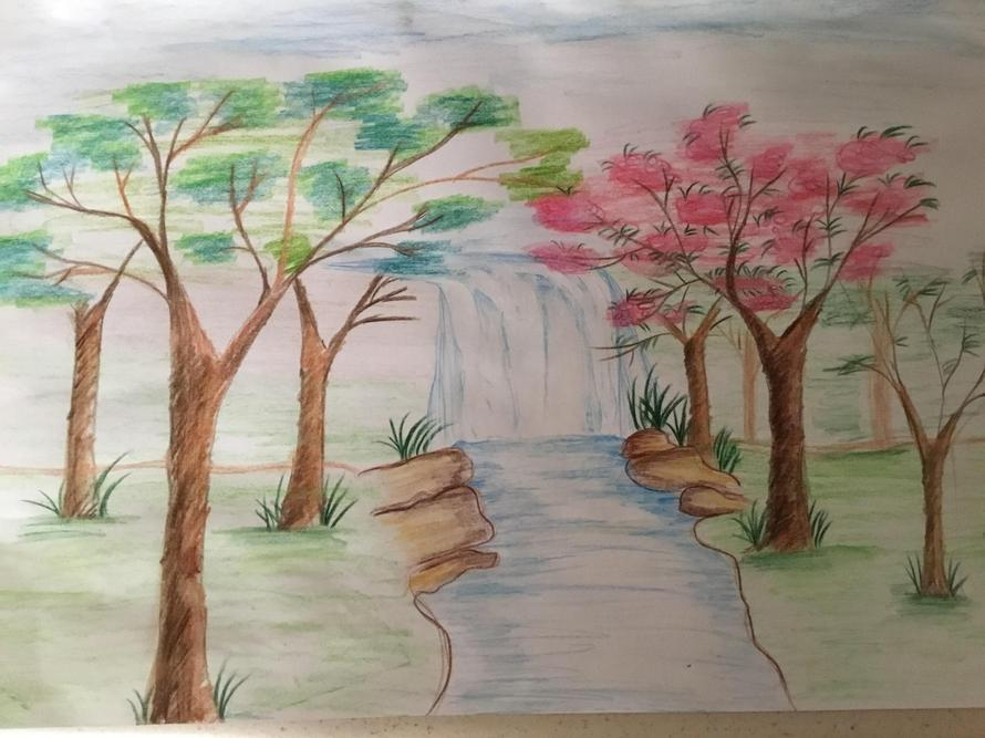 'Waterfall' by Hager