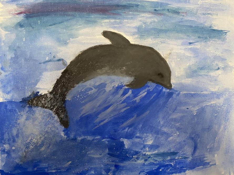 'Dolphin' by Betty