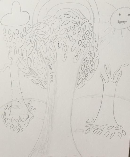 'Wisdom Tree' by Lily