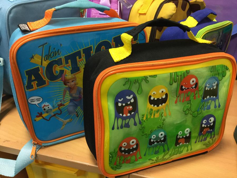 Don't forget your lunch bag!
