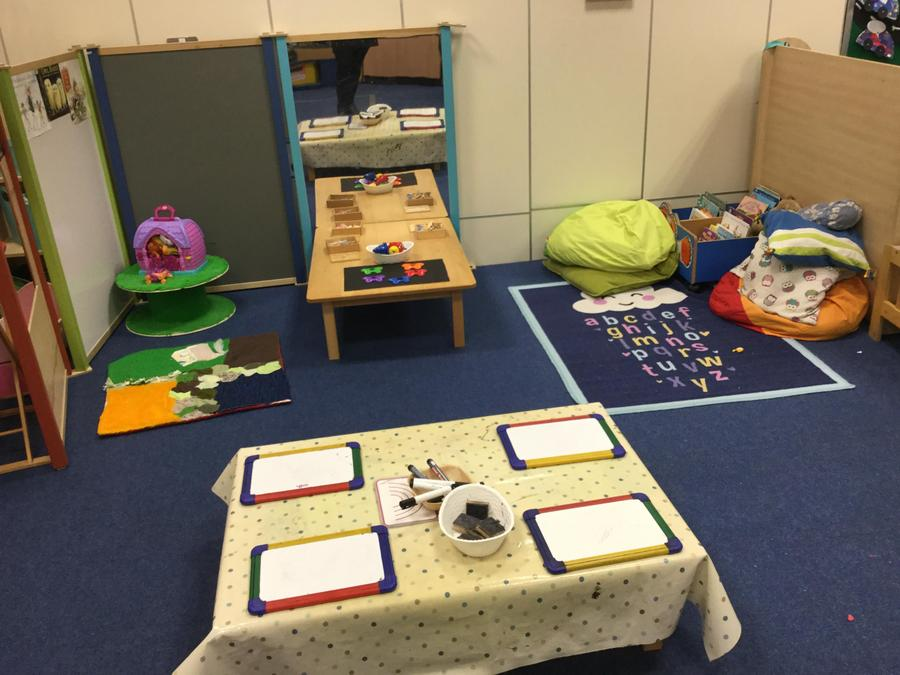 We draw, write and read lots of stories in Nursery!