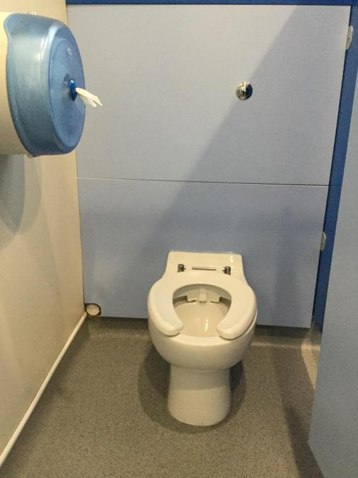 We have new toilets too!