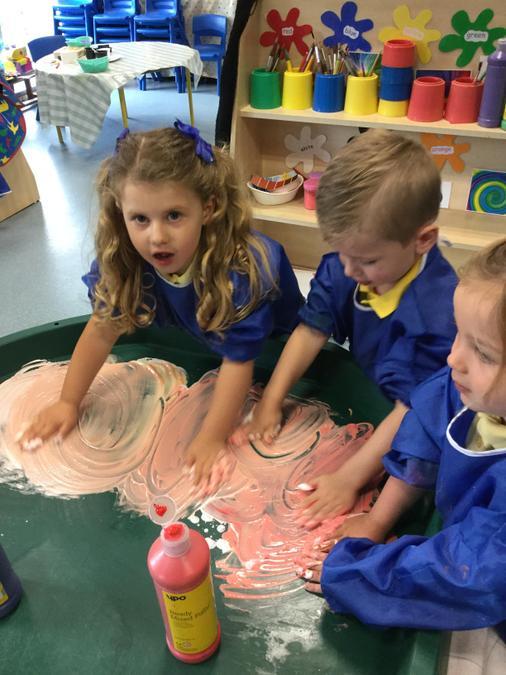 Fun in the foam!