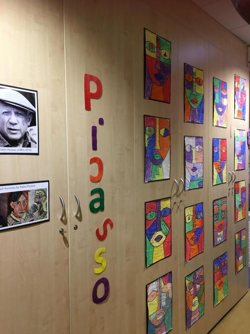 ... Looking at the artist and works of Picasso.