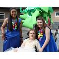 Hawaiian themed prom.