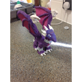 Independently made out of modelling clay & painted