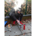 Cooking on Trangia stoves - 5th November 2020