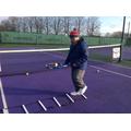 Tennis skills at Hinckley Tennis Club