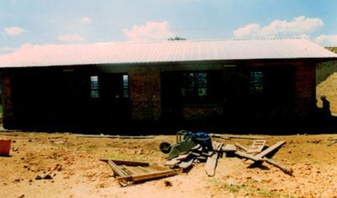 Kiruhura Primary classrooms completed.