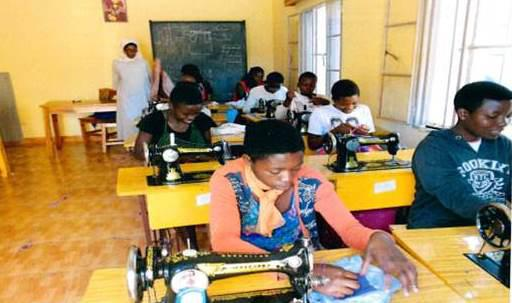 Creating job opportunities through sewing classes