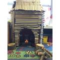 Our Christmas Log Cabin
