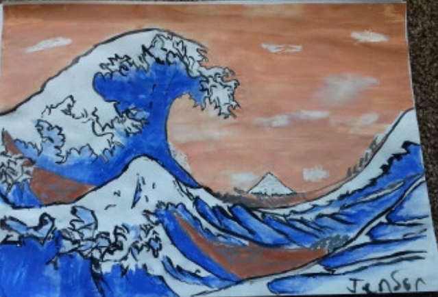 Jenson's Japanese painting
