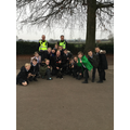 A dog handler came into police cadets today.