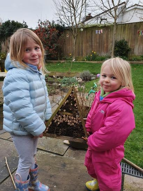 Martha has made a fantastic bug house!
