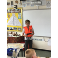 Mrs Kershaw came into to talk to us.