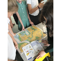We had a look at different maps...