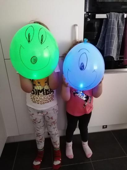 Alba has taken part in the balloon experiment!