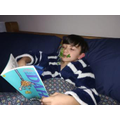 Noah 3H reading Esio Trot