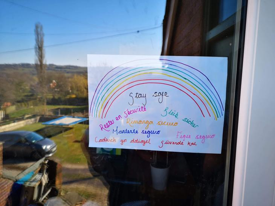 Miss Watts' rainbow 🌈