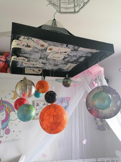 Alba has made her own solar system!