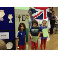 Year 2 winners of competition