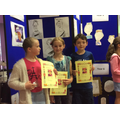 Year 4 winners of competition