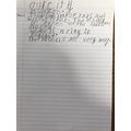 Reubens Super writing