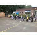 The history of flight- we made paper aeroplanes to test out different designs!