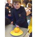 Mummifying a grapefruit