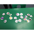 Easter story chains to help us remember the story.