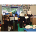 Ordering sentences.