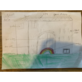 Phoebe's House Drawing