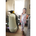 A penguin came to visit!