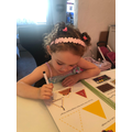 Concentrating on my shape work
