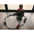 Joshua's train ride