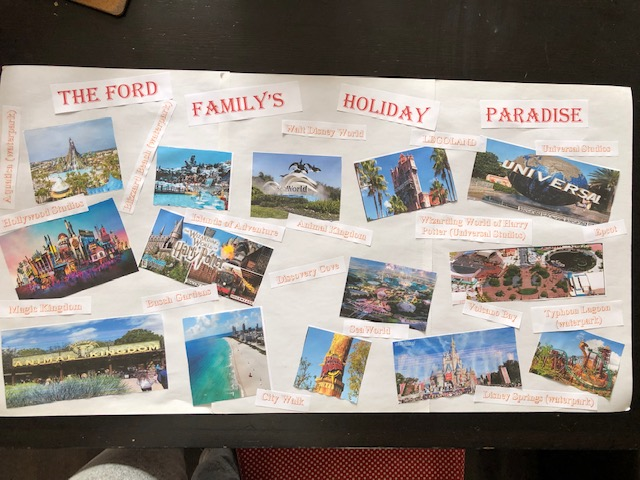 Georgie's dream holiday for her family!