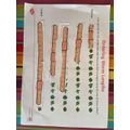 Ordering worms by length