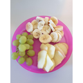 Donneil's healthy snack plate :)