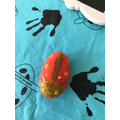 My Ladybird pebble