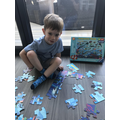 Joshua's under the sea puzzle