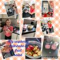 Rebekah made a healthy milkshake!