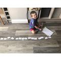 Oliver's numberline